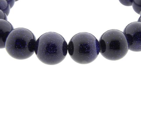 Lapis lazuli Christian armband