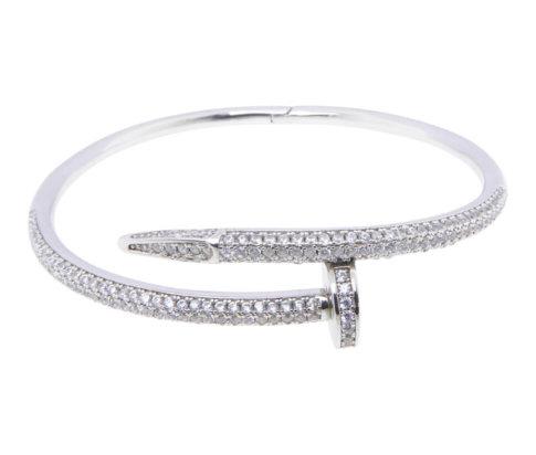 Zilveren Cartier zirkonia armband