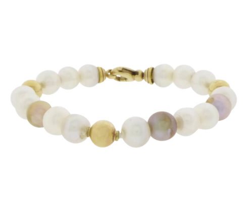 Zoetwaterparel armband