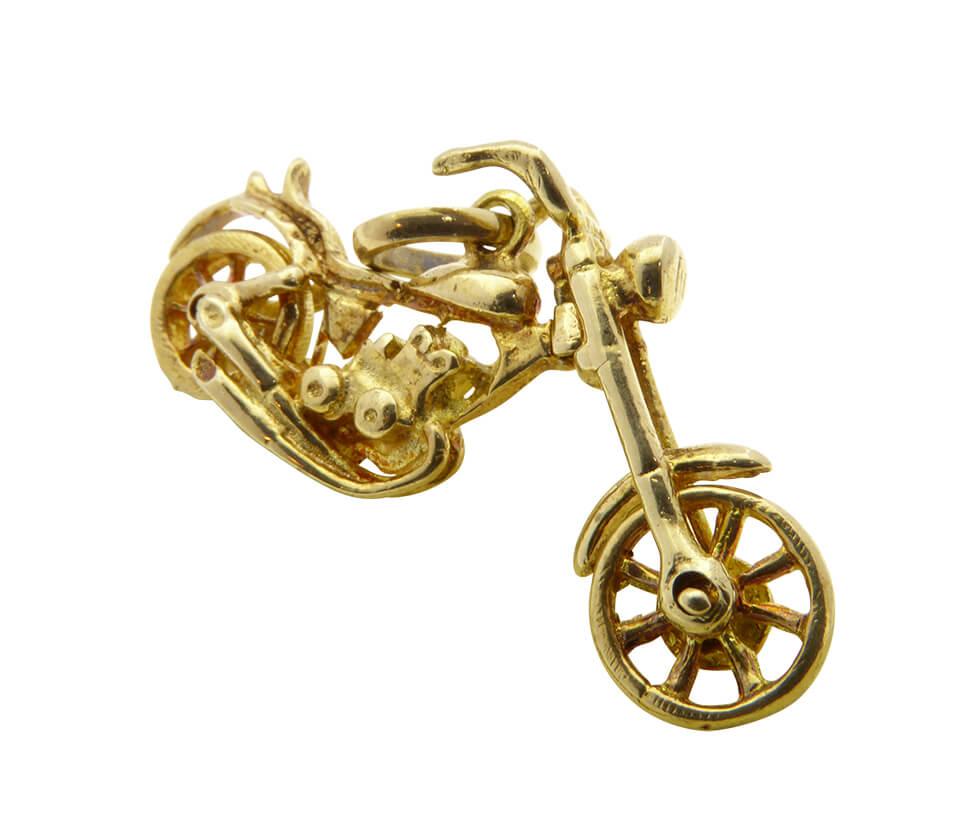 Gouden chopper motor hanger
