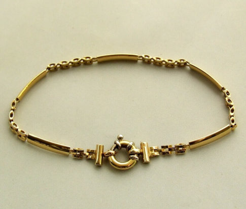 Christian geel gouden armband