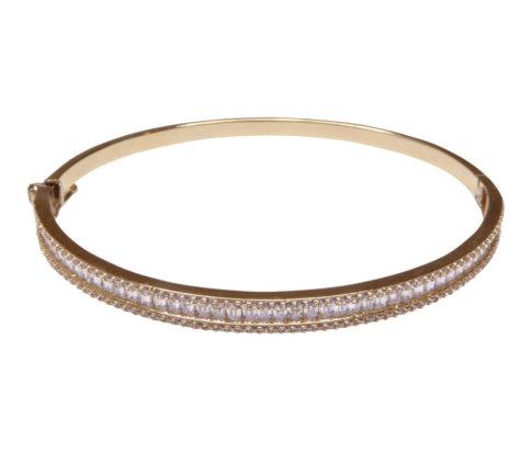 Geel gouden 14 karaat armband