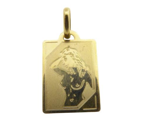 Geel gouden maagd sterrenbeeld hanger