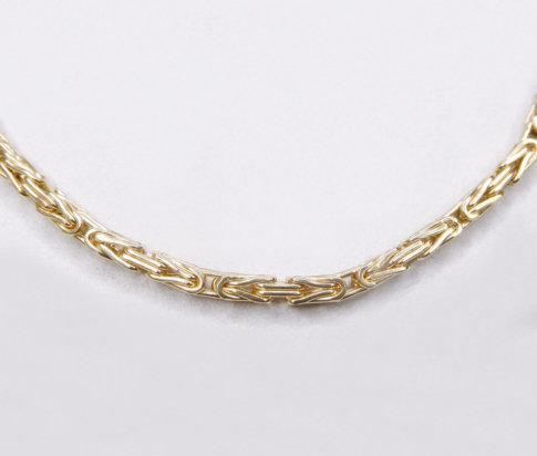 14 karaat gouden koningscollier