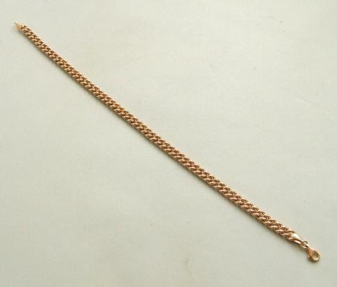 14 karaat rose gouden armband