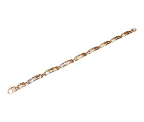 Heren bicolor armband