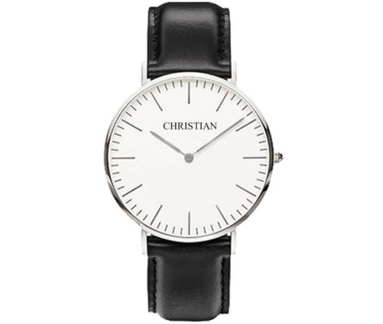 Christian Silver White Classic