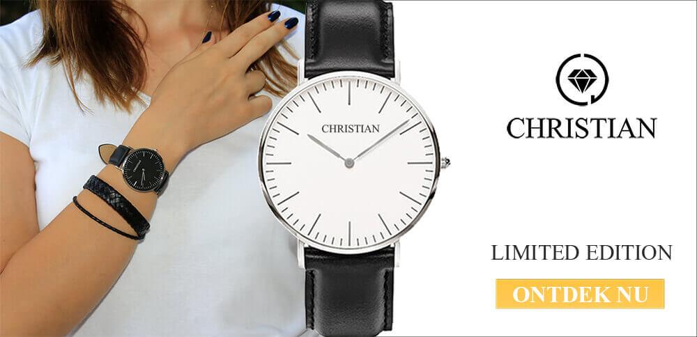 Christian horloge