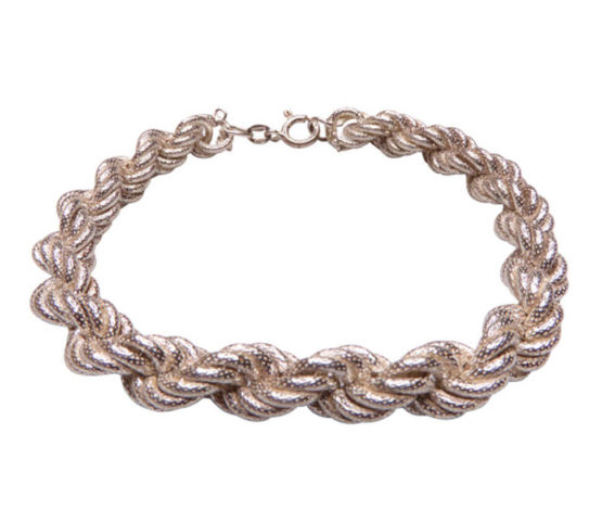 Christian zilveren armband