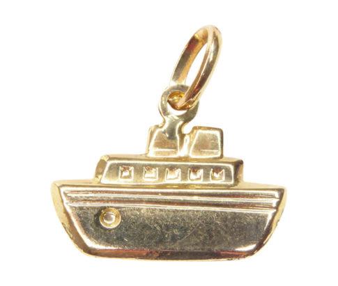 Gouden boot hanger