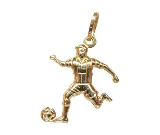 Gouden voetbal hanger