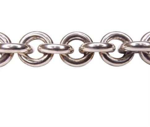 Zilveren armband met losse schakels
