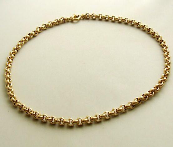 14 karaat gouden jasseron collier