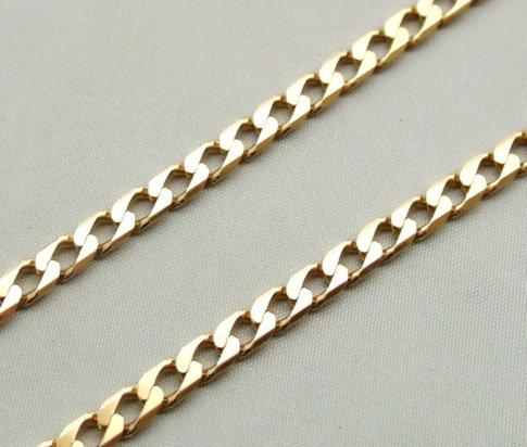 Geel gouden collier