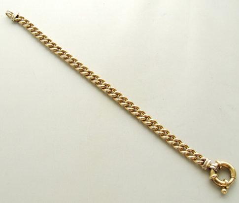 Gouden Christian armband