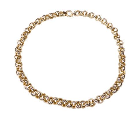 Jasseron gouden collier