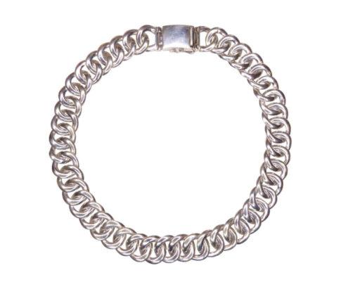 Zilveren armband met cirkel armband