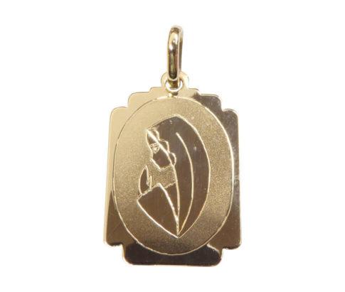 14 karaat gouden Maria hanger