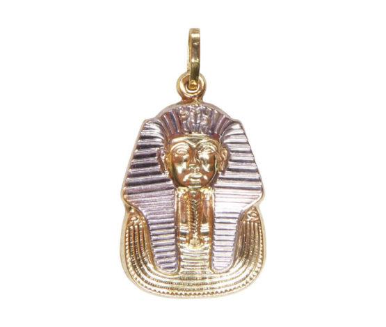 Bicolor gouden Egyptische hanger