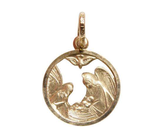 14 karaat gouden engel hanger