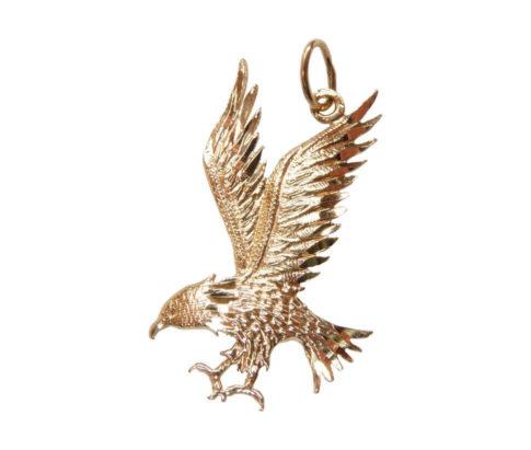 Gouden adelaar hanger