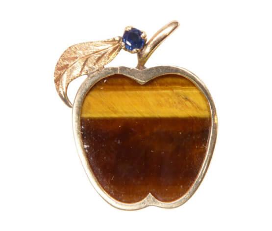 Gouden appel hanger