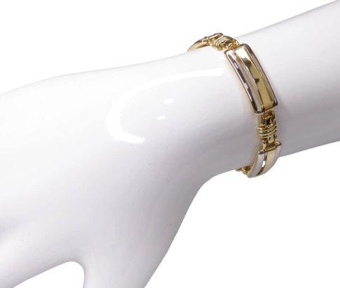 Christian 14 karaat bicolor gouden armband