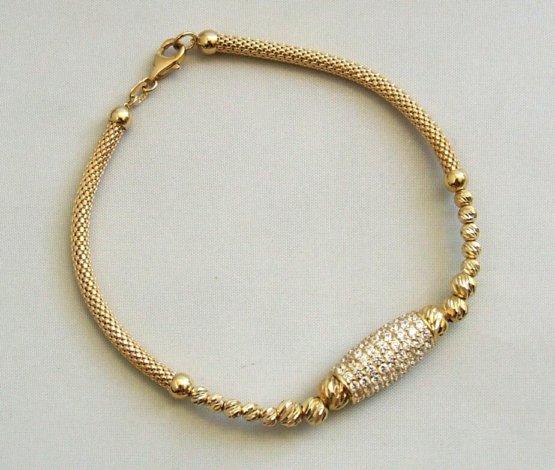 Christian zirkonia armband