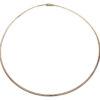 Gouden spang collier half rond