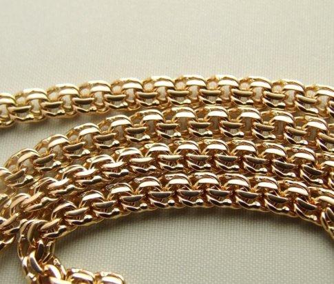 Rose gouden collier