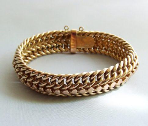 14 karaat occasion gouden armband
