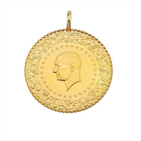 Turkse Çeyrek gouden munt