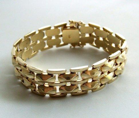 Vintage gouden armband