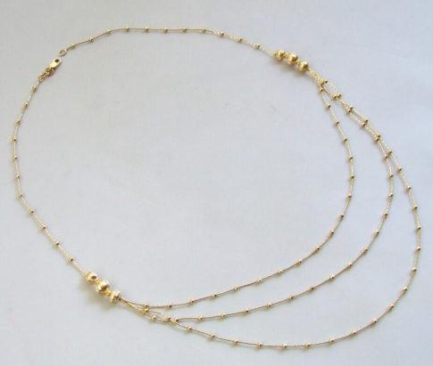 14 karaat Christian geel gouden collier