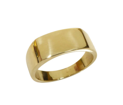 14 karaat gouden cachet ring