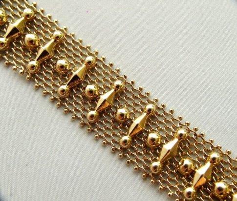 14 karaat gouden Christian armband