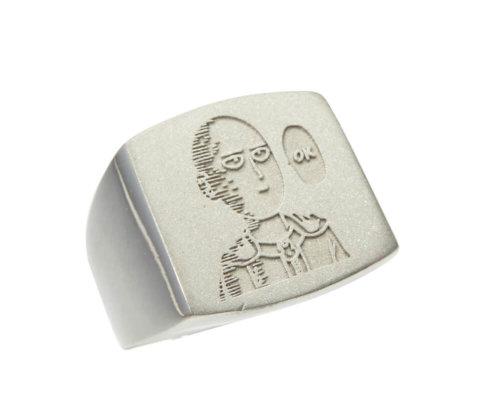 Zilveren Saitama ring
