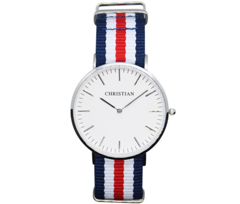 Christian Silver White Freedom