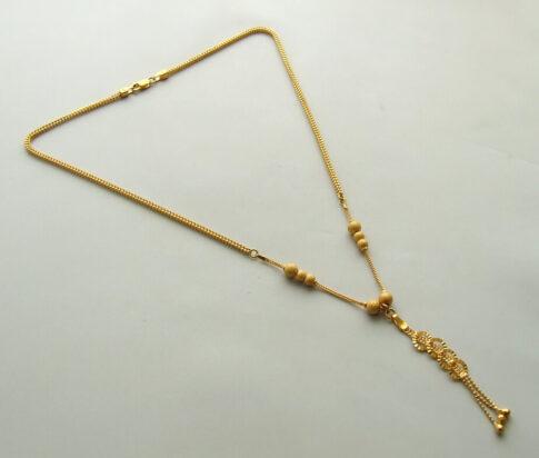 22 karaat gouden collier
