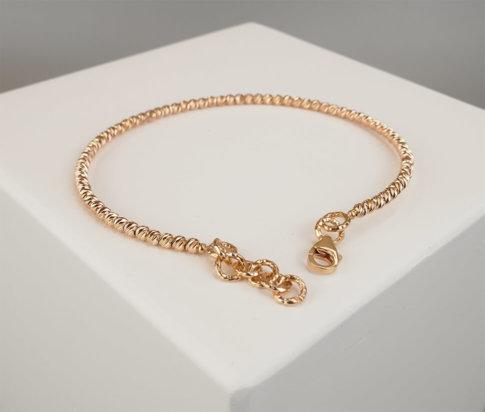 Christian rose gouden armband