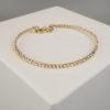 Gouden Christian balletjes armband