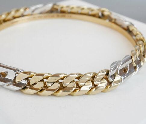 Christian goud heren armband